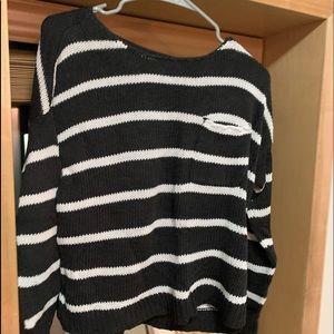 Striped American Eagle sweater